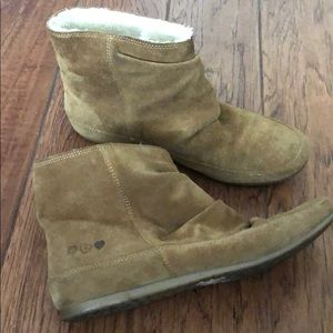 Lucky Brand Slip on Lined Boots